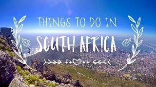 Download 6 Awesome Things To Do In South Africa Video
