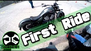 Download First time on a Cruiser / First impressions /2015 Victory Motorcycles Gunner Video