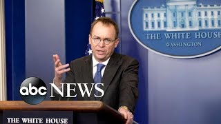 Download Mulvaney is set to replace Kelly as interim White House chief of staff Video