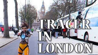 Download Tracer cosplay in London! Video