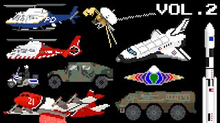 Download Vehicles Collection Volume 2 - Emergency, Space & Military - The Kids' Picture Show Video