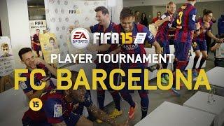 Download FIFA 15 - FC Barcelona Player Tournament - Messi, Neymar, Alves, Piqué, Alba, Rakitić, Bartra, Munir Video