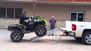 Download First timer ATV truck loading Video