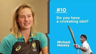 Download 25 Questions with Ellyse Perry | 'Fast bowlers are cooler than spinners in every way' Video