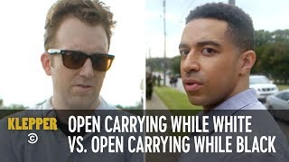 Download Open Carrying While White vs. Open Carrying While Black - Klepper Video