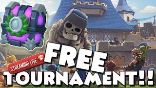 Download FREE PASSWORD 200 PERSON TOURNAMENTS!! :: Clash Royale - Live Stream Video