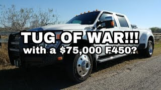 Download THE Tug of War! Chevy vs RAM vs Ford! Video