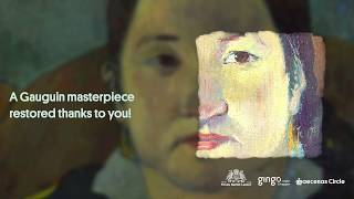 Download A masterpiece by Gauguin restored! Video