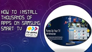 Samsung Smart TV SSİPTV Install Apps Free Download Video MP4 3GP M4A