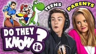 Download Do Teens Know Their Parent's Favorite Video Game? | React: Do They Know It? Video