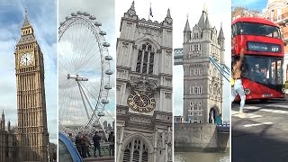 Download Londres en 4 minutos: Big Ben, London Eye, Westminster, Tower Bridge... Video