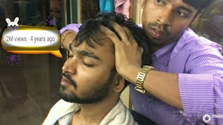 Download Best Indian Head Massage - Scalp and Upper Body Massage by Sunil | Episode- 1| ASMR | 100th Upload Video