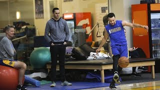 Download Warriors reporter Logan Murdock on Stephen Curry's status, Quinn Cook and Omri Casspi Video