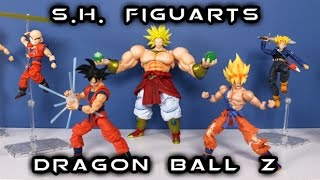 Download S.H. Figuarts DRAGON BALL Z Collection Update | Entire Line Walkthrough Video