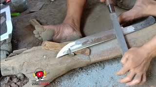 Download PRIMITIVE TECHNOLOGY MAKING A SUPER SHARP KNIFE Video