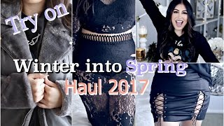 Download HUGE Winter into Spring Haul 2017 TRY ON Video