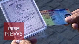 Download How easy is it for refugees to buy fake passports in Athens? BBC News Video