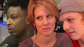 Download Mom reacts to 21 Savage on Breakfast club Video