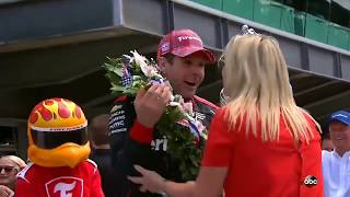 Download Uncut - Will and Liz Power last 5 Laps to Victory Indy 500 2018 Video