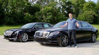 Download Luxury Sedan Fight! | '16 Mercedes S550 vs '16 Cadillac CT6 Video