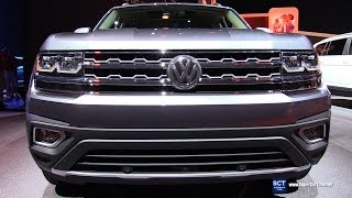 Download 2018 Volkswagen Atlas SEL V6 4Motion - Exterior and Interior Walkaround - Debut at 2016 LA Auto Show Video