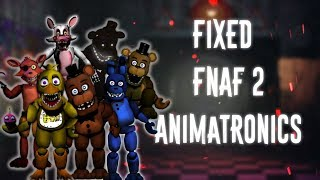 Download [FNAF   Speed Edit] Making Fixed FNAF2 Animatronics Part2 Video