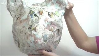 Download How To Make A Paper Mache Bear Head Video