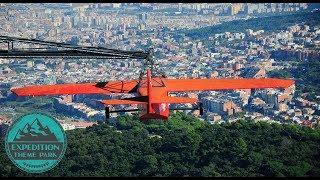 Download The Historic Tibidabo Amusement Park - Barcelona Spain | Expedition Theme Park Video