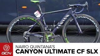 Download Nairo Quintana's Canyon Ultimate CF SLX | Tour De France 2016 Video