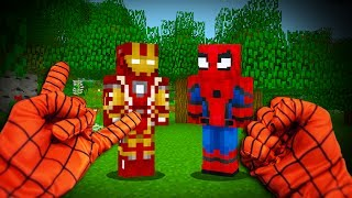Download REALISTIC SPIDERMAN - Ironman Meets Spiderman! (Realistic Minecraft) Video