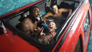 Download We Turned A Car Into A Swimming Pool (FLOODED HOUSE) Video