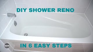 Download DIY How to Renovate the Tub / Shower from A to Z Video