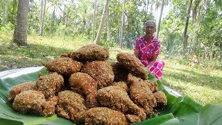 Download Crispy Fried Chicken - KFC Style Fried Chicken Legs prepared in my Village by Grandma Video
