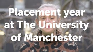 Download Placement year at the University of Manchester Video