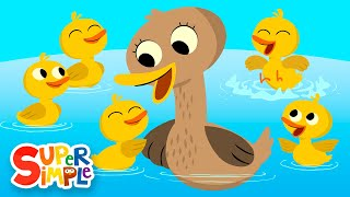 Download Five Little Ducks | Kids Songs | Super Simple Songs Video
