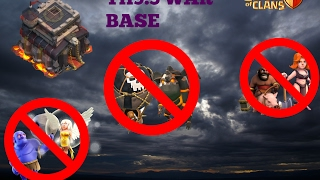 Download TH9.5 BEST WAR BASE 2017-TH11 TH10 FAIL REPLAYS ANTI LAVALOON ANTI BOWLERS CLASH OF CLANS/ Video