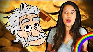 Download Einstein's Golden Secret! (Psst! Special relativity gives gold its color) Video