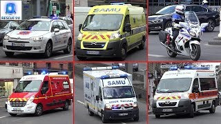 Download [PARIS] Véhicules d'urgence // Emergency vehicles Video