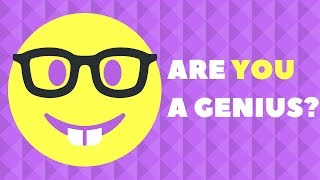 Download 5 Questions Only a Genius Can Answer! - Genius IQ Test Video