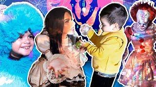 Download Disfrazándome con mi hijo | Un monstruo muy tierno Video