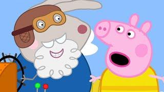 Download Peppa Pig Full Episodes | Grampy Rabbit's Hovercraft | Cartoons for Children Video