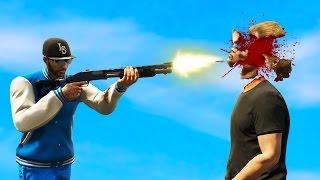 Download BRUTAL SHOTGUN HEADSHOT! (GTA 5 Funny Moments) Video