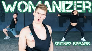Download Womanizer - Britney Spears   Caleb Marshall   Dance Workout Video
