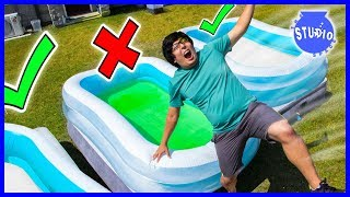 Download DONT Trust Fall Into Wrong Pool Challenge! Video