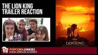 Download The Lion King (Official Trailer) Nadia Sawalha & The Popcorn Junkies Family Movie Reaction Video