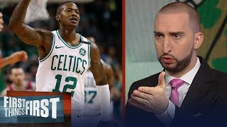 Download Nick Wright on how the Celtics were able to dominate the 76ers in Game 1 | NBA | FIRST THINGS FIRST Video