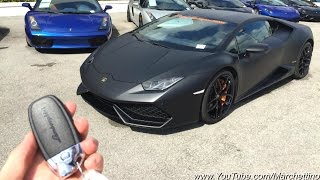 Download Lamborghini Huracan - Overview and LOUD Race Exhaust Sound! Video