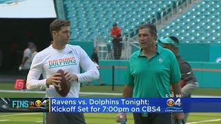 Download Cutler To Make Dolphins Debut As Miami Hosts Ravens In Second Preseason Game Video