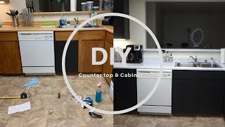 Download DIY: Countertop & Cabinet | With Only Contact Paper Video