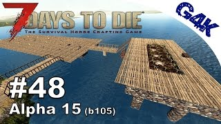 Download 7 Days To Die | Reinforcing the Farm | 7 Days to Die Gameplay Alpha 15 | S09E48 Video